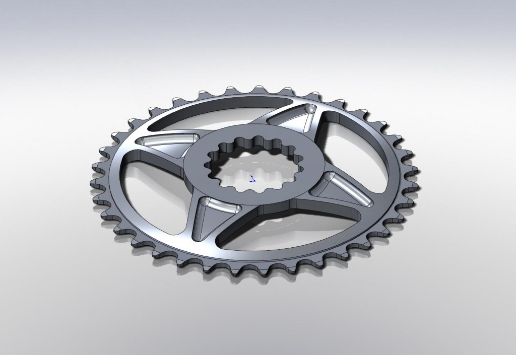 kav-35t-spl (sprocket, 35t, spline drive)